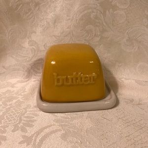Ceramic Butter Dish With Lid